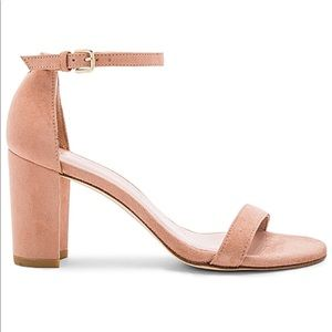 Stuart Weitzman Nearlynude in naked suede